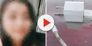 Menina de 14 anos morre eletrocutada por carregador de celular enquanto dormia