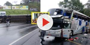 Ônibus tomba em município da região do Vale do Itajaí e causa tragédia