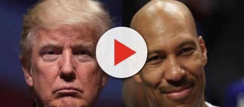 Donald Trump, LeVar Ball, via Twitter