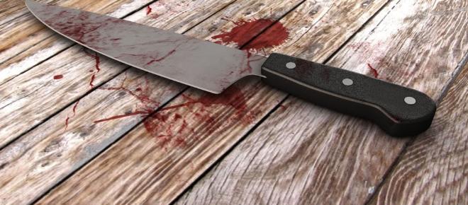 Homem assassina mulher à facada na presença dos três filhos menores