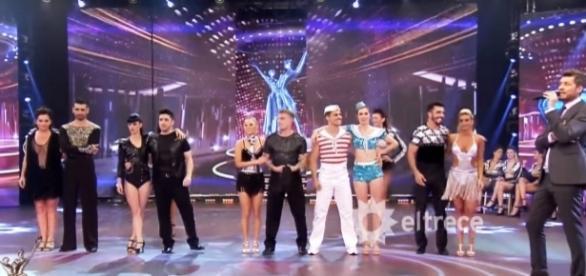 Cinco parejas al borde de la eliminación (El Trece TV)
