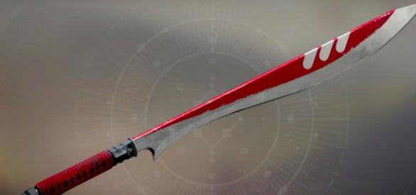 New Monarchy sword for the upcoming Faction Rallies - via YouTube/Ms5000Watts