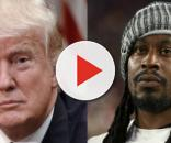 Donald Trump, Marshawn Lynch, via Twitter