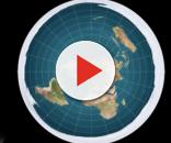 Flat-earthers believe the Earth is disc-shaped. Image via Vsauce/YouTube Channel.