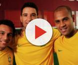 Jogador em sua primeira convocação para seleção (Foto: Globo.com)