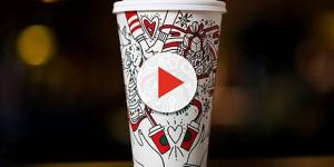 Starbucks holiday cup met with criticism again this year [Image: Wochit News/YouTube screenshot]