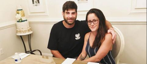David Eason and Jenelle Evans enjoy wedding preparations. [Photo via Jenelle Evans/Instagram]