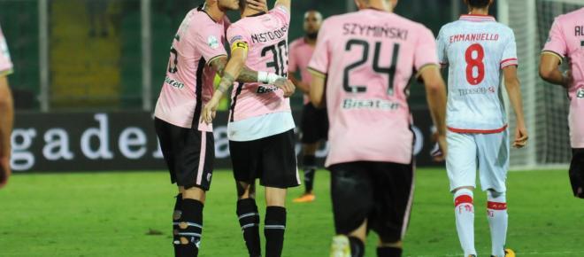 Serie B: il Palermo espugna il San Nicola e conquista la vetta