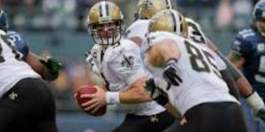 Drew Brees will look to help guide the Saints to their ninth straight win. Image Source: Flickr | Kelly Bailey