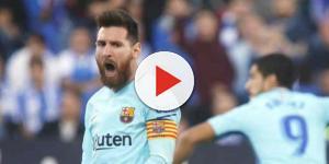 Leo Messi continua brilhando no Barça