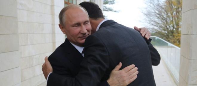 Qu'a dit al-Assad à Poutine avant le sommet pour la paix en Syrie ?