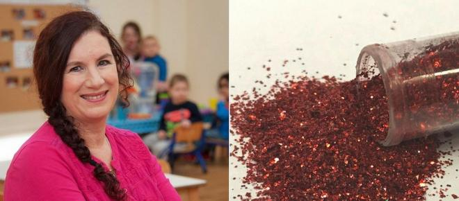 Nursery issues glitter ban on Christmas crafts.