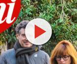 Fabrizio Frizzi immortalato dal settimanale 'Chi'