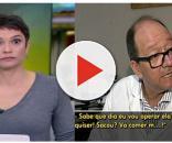Sandra ficou impressionada com a resposta do médico (Foto: Reprodução/TV Globo )