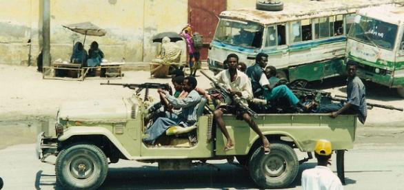 A scene of Mogadishu (Image credit – CT Snow, Wikimedia Commons)