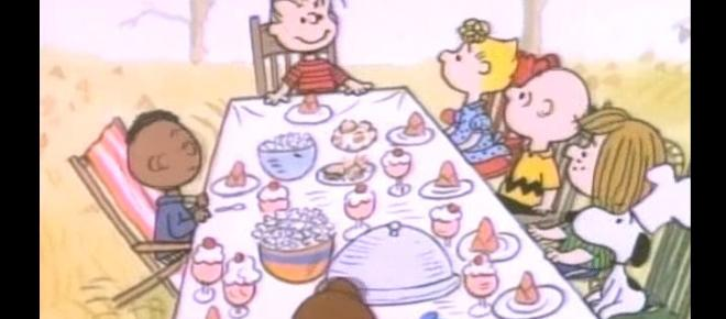 A curious image related to 'A Charlie Brown Thanksgiving'
