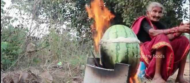 106-Year-Old Granny Invents Watermelon Chicken