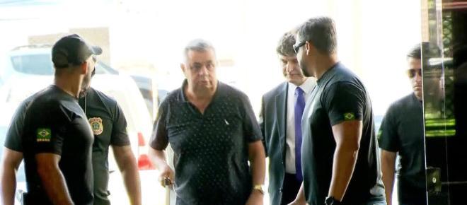 Picciani juntamente com Albertassi e Paulo Melo são levados para prisão