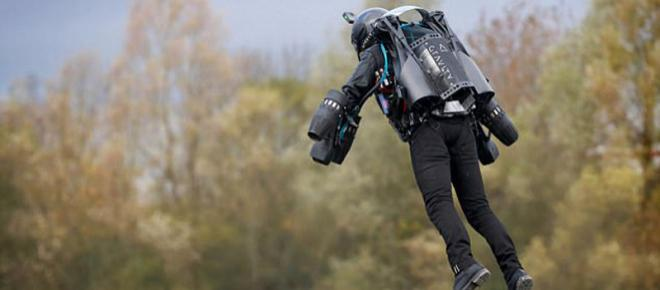 British inventor in Iron Man style jet suit set Guinness World Record