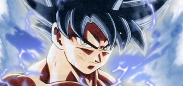 Goku in his maximum power the selfish doctrine