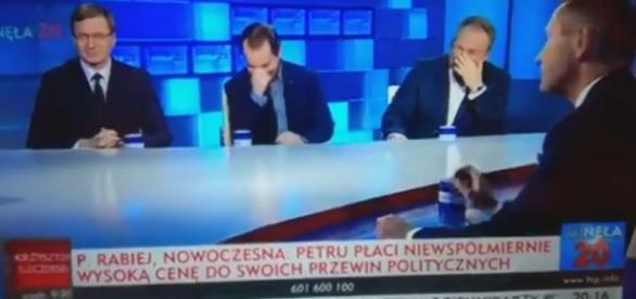 Paweł Rabiej o dokonaniach Ryszarda Petru (screen Twitter).