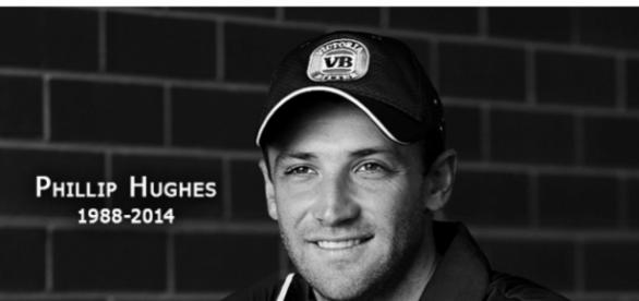Tragic - Phillip Hughes died three years ago this week, aged 25 (source: Google)