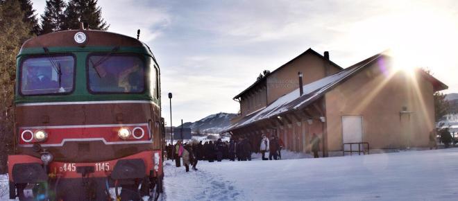 Transiberiana d'Italia, il treno da record