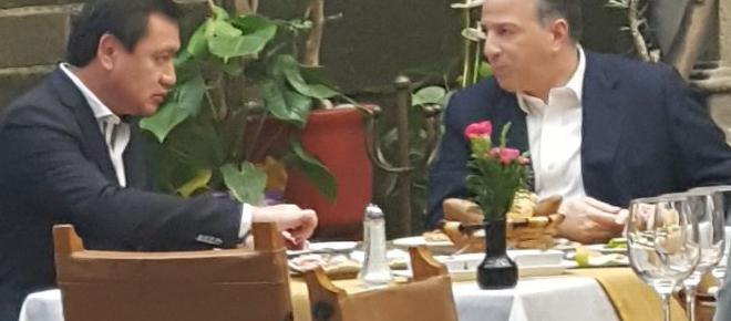 Ficción sobre la comida de ayer entre Osorio Chong y José Antonio Meade