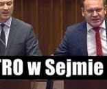 Tarczyński ostro usadził Nitrasa w Sejmie (scrn YT)