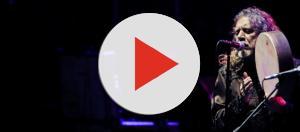 Il grande Robert Plant durante un concerto