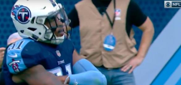 Kevin Byard had 2 picks in a win against the Ravens - via YouTube/NFL