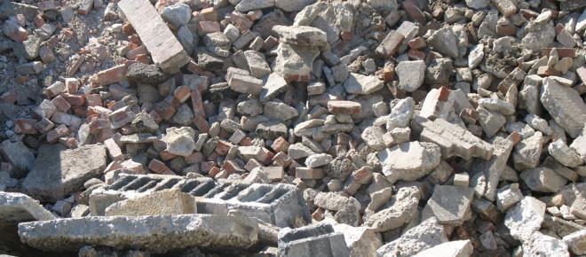 Grande consumo de agregados causa danos ambientais