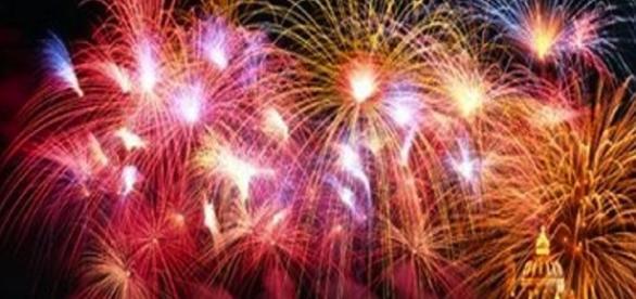 I fuochi d'artificio sono vietati in molte comuni italiani