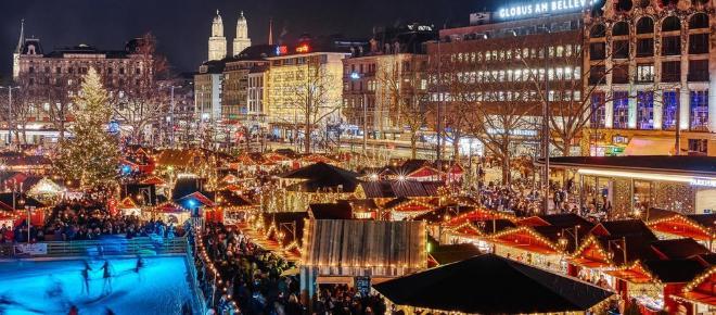 Zurigo, riparte la stagione del vin brulè e dei mercatini di Natale