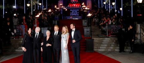 'Murder on the Orient Express' premieres in London (source: Blasting News library)