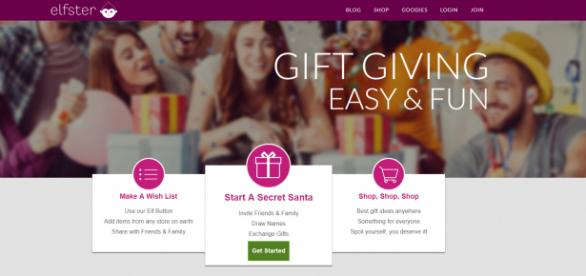 Elfster is a gift-exchange website that can be used to enhance many kinds of celebrations. / Image via Elfster, used with permission.