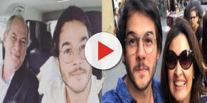 Túlio Gadêlha, namorado de Fátima Bernardes e apoiador de Ciro Gomes