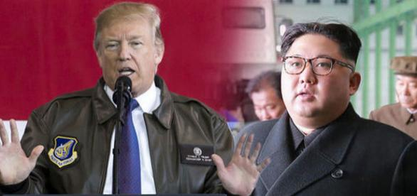 Donald Trump a dat un avertisment sever dictatorului nord-coreean Kim Jong-un - Foto: express.co.uk (credit Getty Images)