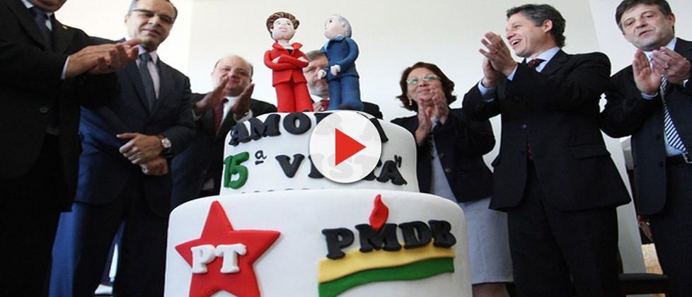 Partidos 'ignoram' impeachment de Dilma e PMDB e PT devem se aliar em 2018