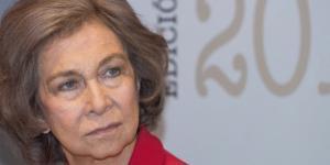 Doña Sofía en una foto de archivo