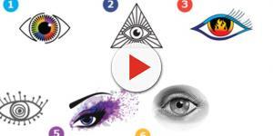 Cada olho revela características de sua personalidade
