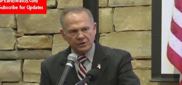 Roy Moore is in the eye ( Image credit: YouTube)