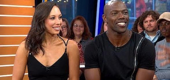 """Terrell Owens and Cheryl Burke eliminated from """"Dancing with the Stars"""" [Image: Good Morning America/YouTube screenshot]"""
