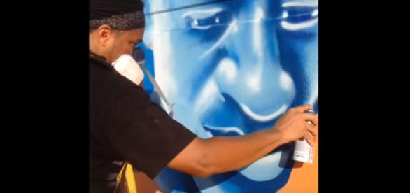 The Wall of Peace' by Brandan Odums- Image credit - NOLA.com | YouTube
