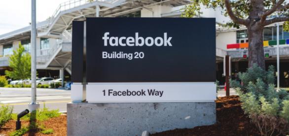 Un'immagine dal Campus di Facebook a Menlo Park, in California
