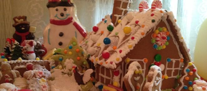 Casetta di pan di zenzero per un Natale magico