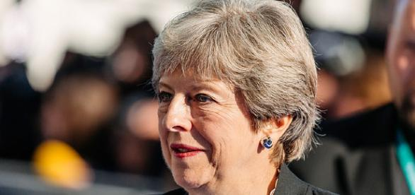 Theresa May's Tory Party in crisis. ( photo wikimedia author estonian presidency)
