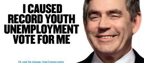 Anti - Gordon Brown poster by the Conservatives - Conservatives - Flickr