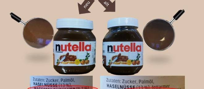 La Nutella modifica la sua ricetta