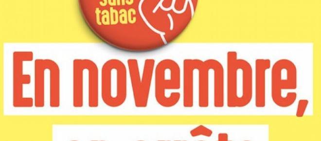 Santé : Le mois sans tabac revient en Novembre 2017 !